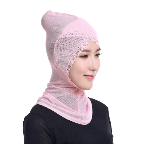Fashion Full Cover Muslim Hijab Head Cover Scarf Rhinestone Lace Islamic Turban Beanies Underscarf Ninja HijabApparel &amp; Jewelry<br>Fashion Full Cover Muslim Hijab Head Cover Scarf Rhinestone Lace Islamic Turban Beanies Underscarf Ninja Hijab<br>