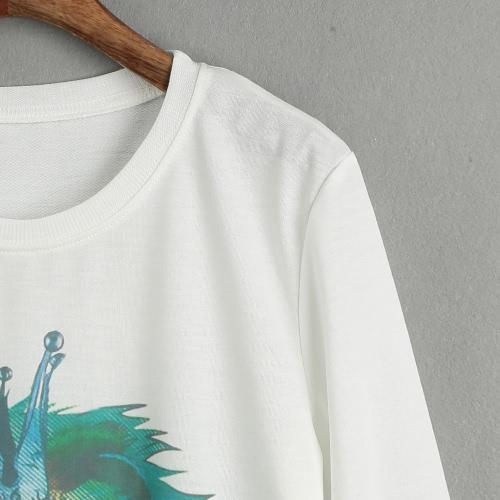 New Women Casual T-Shirt Printed O-Neck Long Sleeve Pullover Loose Top Sweatshirt HoodiesApparel &amp; Jewelry<br>New Women Casual T-Shirt Printed O-Neck Long Sleeve Pullover Loose Top Sweatshirt Hoodies<br>