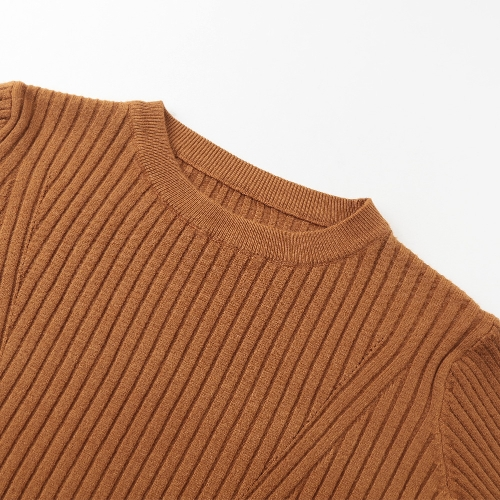 Women High Elastic Sweater Long Sleeves Solid O Neck Slim Knitted Pullover Bottoming Sweater TopApparel &amp; Jewelry<br>Women High Elastic Sweater Long Sleeves Solid O Neck Slim Knitted Pullover Bottoming Sweater Top<br>