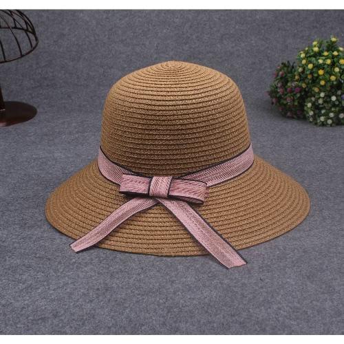 Women Sun Hat Straw Hat Solid Wide Brim Contrast Bow Ribbon Summer Sunbonnet Fedora Beach Panama HatApparel &amp; Jewelry<br>Women Sun Hat Straw Hat Solid Wide Brim Contrast Bow Ribbon Summer Sunbonnet Fedora Beach Panama Hat<br>