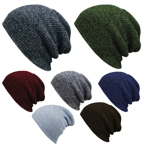 Men Women Unisex Knitted Baggy Beanie Winter Plain Warm Ski Slouchy Skull Crochet Knit Cap HatApparel &amp; Jewelry<br>Men Women Unisex Knitted Baggy Beanie Winter Plain Warm Ski Slouchy Skull Crochet Knit Cap Hat<br>