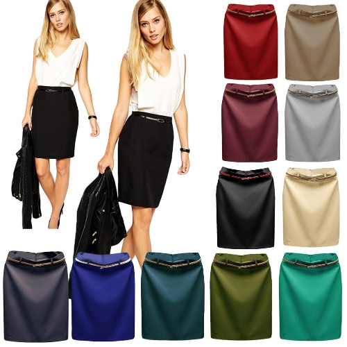 Europe Sexy Women Mini OL Skirt Solid Color Zipper Closure Bodycon Casual A-Line SkirtsApparel &amp; Jewelry<br>Europe Sexy Women Mini OL Skirt Solid Color Zipper Closure Bodycon Casual A-Line Skirts<br>
