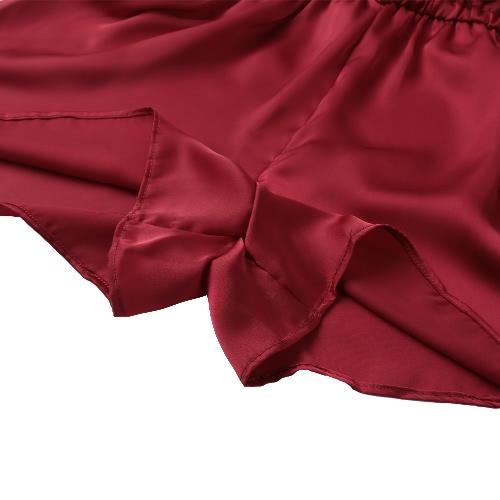 New Sexy Women Jumpsuit Deep V Neck Crisscross Spaghetti Strap Sleeveless Solid Culotte Playsuit RompersApparel &amp; Jewelry<br>New Sexy Women Jumpsuit Deep V Neck Crisscross Spaghetti Strap Sleeveless Solid Culotte Playsuit Rompers<br>