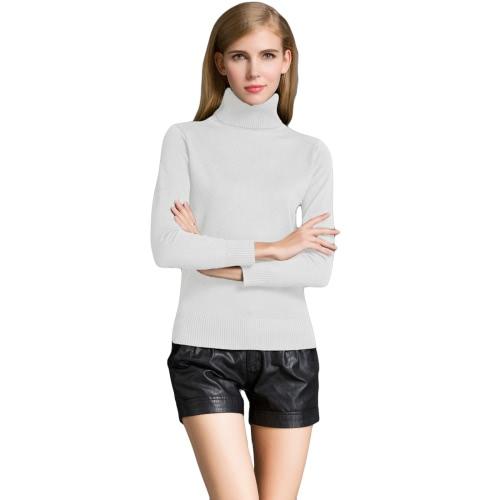 Fashion Winter Women Sweater Knitwear Turtle Neck Long SleevesApparel &amp; Jewelry<br>Fashion Winter Women Sweater Knitwear Turtle Neck Long Sleeves<br>