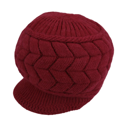 Fashion Women Knitted Beret Crochet Baggy Beanie Winter Warm HatApparel &amp; Jewelry<br>Fashion Women Knitted Beret Crochet Baggy Beanie Winter Warm Hat<br>