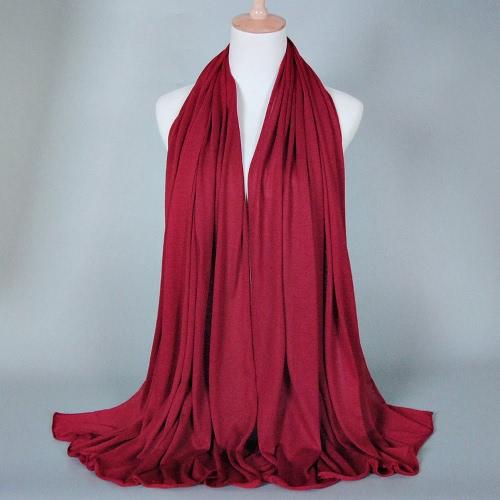 New Fashion Women Scarf Solid Color Long Shawl Muslin Hijab Bandana Head ScarfApparel &amp; Jewelry<br>New Fashion Women Scarf Solid Color Long Shawl Muslin Hijab Bandana Head Scarf<br>