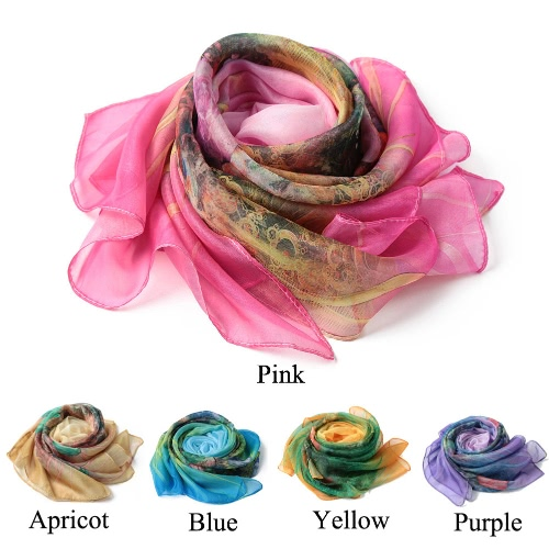 New Fashion Women Scarf Floral Print Two Tiers Beading Long Thin Elegant Pashmina Beach Cover UP BlouseApparel &amp; Jewelry<br>New Fashion Women Scarf Floral Print Two Tiers Beading Long Thin Elegant Pashmina Beach Cover UP Blouse<br>