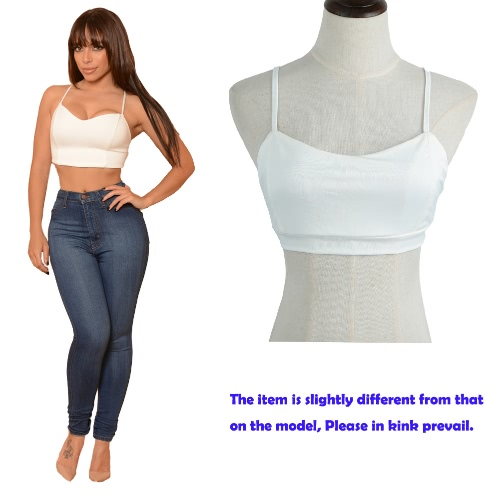 Sexy Summer Women Tank Crop Top Bandage Strap Sleeveless Slim Casual Solid Vest Short Tee White/Red/BlackApparel &amp; Jewelry<br>Sexy Summer Women Tank Crop Top Bandage Strap Sleeveless Slim Casual Solid Vest Short Tee White/Red/Black<br>