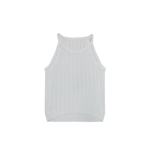 Women Slim Knitted Camisole Top Hollow Out Tank Sleeveless Basic Solid Stretchy Vest Black/WhiteApparel &amp; Jewelry<br>Women Slim Knitted Camisole Top Hollow Out Tank Sleeveless Basic Solid Stretchy Vest Black/White<br>