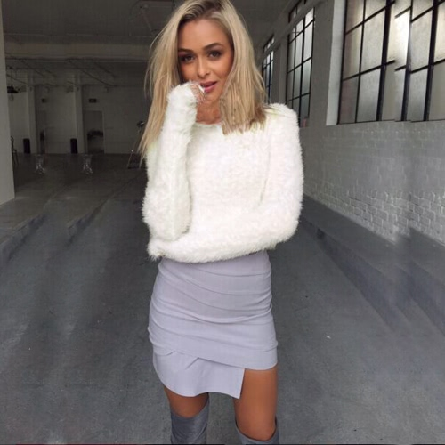 Fashion Women Knitted Sweater Solid O-Neck Long Sleeve Casual Warm Winter Jumper Pullover KnitwearApparel &amp; Jewelry<br>Fashion Women Knitted Sweater Solid O-Neck Long Sleeve Casual Warm Winter Jumper Pullover Knitwear<br>