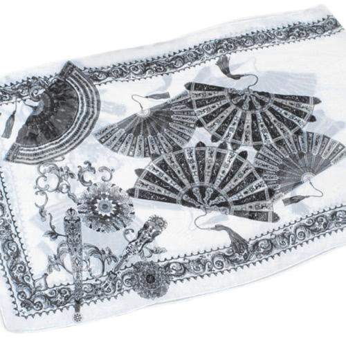 New Fashion Women Chiffon Scarf Folding Fan Floral Print Long Shawl Beach  Pashmina Elegant Thin ScarfApparel &amp; Jewelry<br>New Fashion Women Chiffon Scarf Folding Fan Floral Print Long Shawl Beach  Pashmina Elegant Thin Scarf<br>