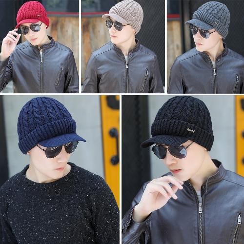 Fashion Men Knitted Beret Crochet Slouch Baggy Beanie Winter Warm Hat Cap HeadwearApparel &amp; Jewelry<br>Fashion Men Knitted Beret Crochet Slouch Baggy Beanie Winter Warm Hat Cap Headwear<br>