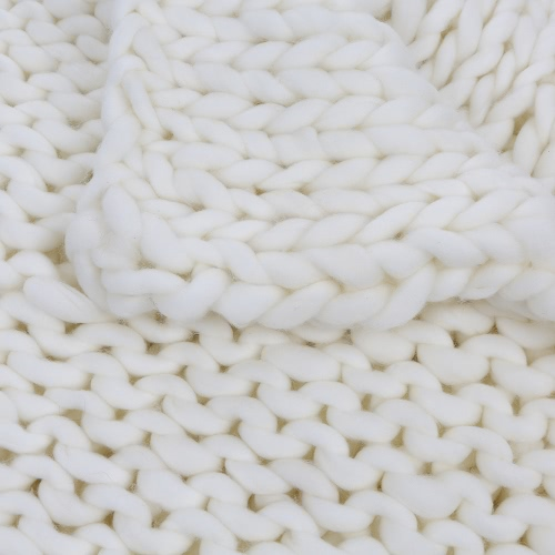 Super Chunky Hand Knit Throw Blanket Crochet Warm Thick Bulky Knitted Soft Sleek Big Sofa Living Room Handwoven 23.6x23.6inHome &amp; Garden<br>Super Chunky Hand Knit Throw Blanket Crochet Warm Thick Bulky Knitted Soft Sleek Big Sofa Living Room Handwoven 23.6x23.6in<br>