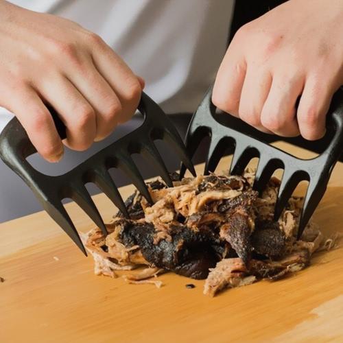 2Pcs Bear Claw BBQ Tool Bear Paws Tear Meat Handler Fork Tongs Pull Shred PorkHome &amp; Garden<br>2Pcs Bear Claw BBQ Tool Bear Paws Tear Meat Handler Fork Tongs Pull Shred Pork<br>