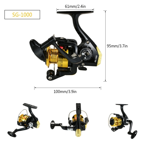 SG6000 BB Ball Bearing Fishing Spinning ReelSports &amp; Outdoor<br>SG6000 BB Ball Bearing Fishing Spinning Reel<br>