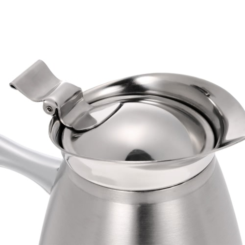 1.5L Large Capacity High Quality Stainless Steel Double Walled Vacuum Insulated Coffee Jug Coffee Pot Thermal Silvery Water PitcheHome &amp; Garden<br>1.5L Large Capacity High Quality Stainless Steel Double Walled Vacuum Insulated Coffee Jug Coffee Pot Thermal Silvery Water Pitche<br>
