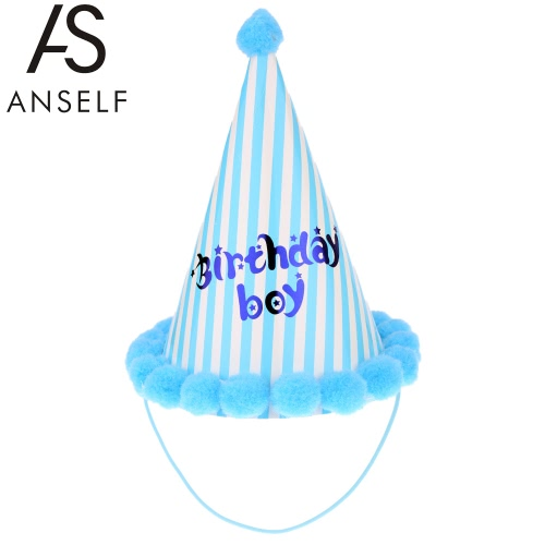 ANSELF Party Celebration Bobbles Cute Hat Birthday Hat Festive Decorations for Kids PinkHome &amp; Garden<br>ANSELF Party Celebration Bobbles Cute Hat Birthday Hat Festive Decorations for Kids Pink<br>