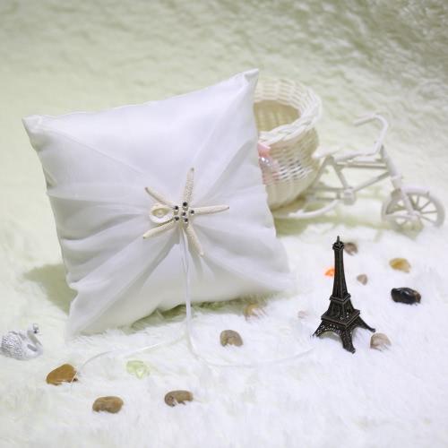 Romantic Soft Satin Wedding Ring Pillow Awesome Good Wedding SuppliesHome &amp; Garden<br>Romantic Soft Satin Wedding Ring Pillow Awesome Good Wedding Supplies<br>