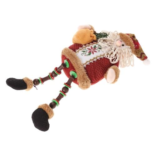 Festnight Super Cute Christmas Plush Toy Adorable Long Leg Sitting Santa Clause Snowman Reindeer Doll Christmas DecorationHome &amp; Garden<br>Festnight Super Cute Christmas Plush Toy Adorable Long Leg Sitting Santa Clause Snowman Reindeer Doll Christmas Decoration<br>