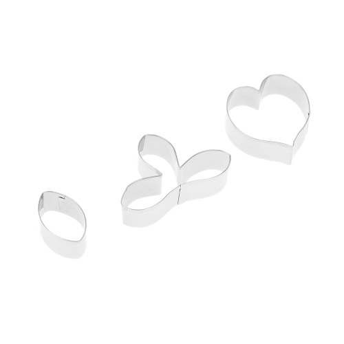 3PCS Stainless Steel Fondant Caulis Dendrobii Flower Petal Cutter Set Gum Paste Mold Baking Cake Decorating Tools Sugarcraft CookiHome &amp; Garden<br>3PCS Stainless Steel Fondant Caulis Dendrobii Flower Petal Cutter Set Gum Paste Mold Baking Cake Decorating Tools Sugarcraft Cooki<br>