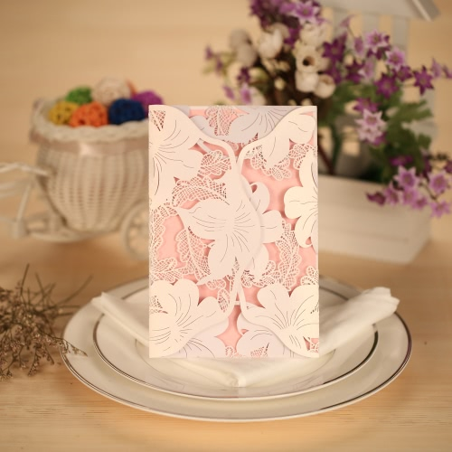 10pcs Romantic Invitation Cards + 10pcs Inner Sheets + 10pcs White Envelopes Wedding Party Banquet DecorationHome &amp; Garden<br>10pcs Romantic Invitation Cards + 10pcs Inner Sheets + 10pcs White Envelopes Wedding Party Banquet Decoration<br>