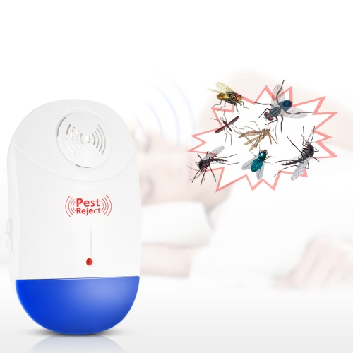 Electronic Ultrasonic Pest Repeller Non-toxic Plug In Repellent for Mice Mosquito Ants Spiders Roaches Repelling AC90V-250VHome &amp; Garden<br>Electronic Ultrasonic Pest Repeller Non-toxic Plug In Repellent for Mice Mosquito Ants Spiders Roaches Repelling AC90V-250V<br>
