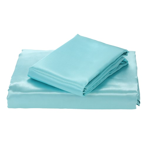 Silk-like Bedding Set Well-made Duvet Cover Set Silky Smooth Soft Duvet Cover &amp; Pillowcase SetsHome &amp; Garden<br>Silk-like Bedding Set Well-made Duvet Cover Set Silky Smooth Soft Duvet Cover &amp; Pillowcase Sets<br>