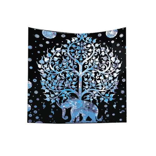 130*150cm Polyester Home Mandala Wall Decor Art Forest Tree Nature Animals Printing Bohemian Hanging Tapestry Beach Throw Towel BlHome &amp; Garden<br>130*150cm Polyester Home Mandala Wall Decor Art Forest Tree Nature Animals Printing Bohemian Hanging Tapestry Beach Throw Towel Bl<br>