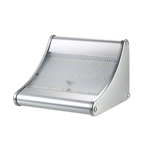 Outdoor Solar Light 24 LED 450 Lumen PIR Motion Sensor with Aluminum Alloy Housing Waterproof Security Lights for Garden Yard PathHome &amp; Garden<br>Outdoor Solar Light 24 LED 450 Lumen PIR Motion Sensor with Aluminum Alloy Housing Waterproof Security Lights for Garden Yard Path<br>