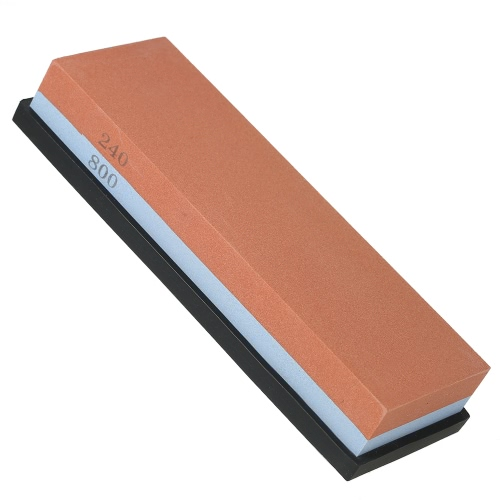7*2*1 Knife Sharpening Stone 240/800 Grit Coarse/Fine Combination Double Side Whetstone Grindstone for Knives 180*60*30mmHome &amp; Garden<br>7*2*1 Knife Sharpening Stone 240/800 Grit Coarse/Fine Combination Double Side Whetstone Grindstone for Knives 180*60*30mm<br>