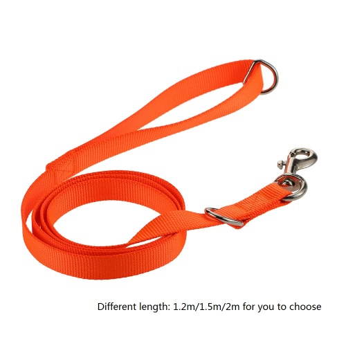 Strong Durable Nylon Material Dog Leash Pet Strap Lead Leash Dog Walking Running Training Control Safety Traction RopeHome &amp; Garden<br>Strong Durable Nylon Material Dog Leash Pet Strap Lead Leash Dog Walking Running Training Control Safety Traction Rope<br>