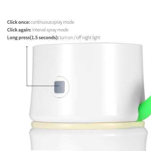 Mini USB DC5V Ultrasonic Bamboo Air Humidifier Spray Diffuser Mist Maker with LED Night Light for Home Office Car Pearl WhiteHome &amp; Garden<br>Mini USB DC5V Ultrasonic Bamboo Air Humidifier Spray Diffuser Mist Maker with LED Night Light for Home Office Car Pearl White<br>