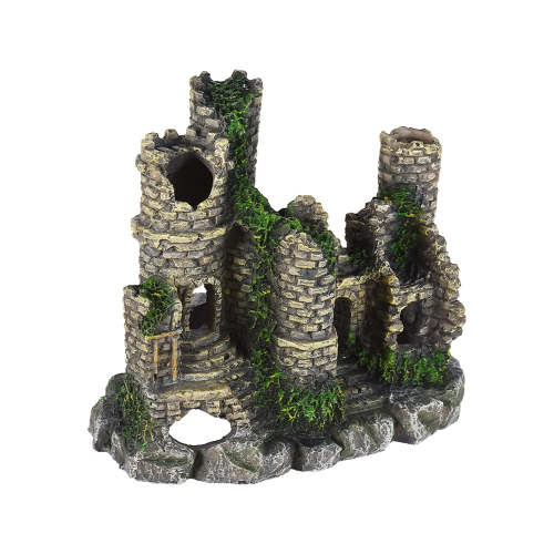 Imitation Antique Castle Rock Hiding Cave Landscape Aquarium Fish Tank Decoration Decorative Ornament Eco-friendly ResinHome &amp; Garden<br>Imitation Antique Castle Rock Hiding Cave Landscape Aquarium Fish Tank Decoration Decorative Ornament Eco-friendly Resin<br>