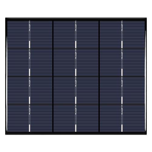 Cellule solaire de panneau solaire polycristallin de silicium de 3.5W 6V pour le chargeur de puissance de bricolage 165 * 135mm