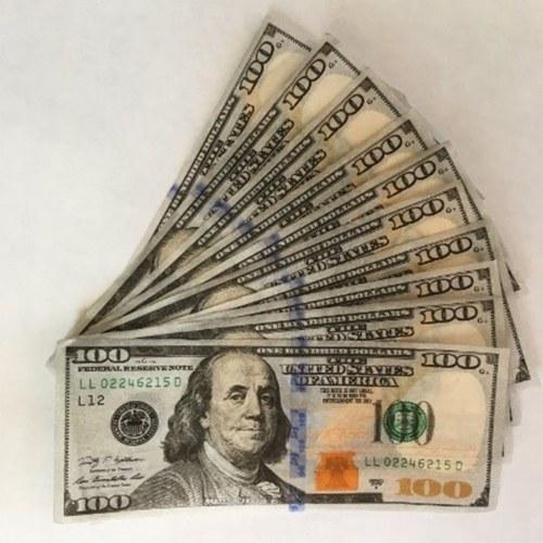 10 piezas Funny Innovative Empire $ 100 Dollar Cigarette Papers