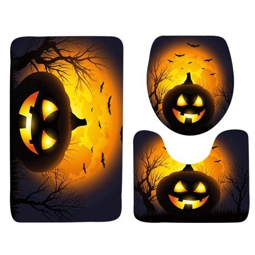 3Pcs / Set Halloween Style Bathroom Decor