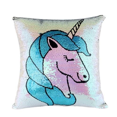 Magic Reversible Paillettes Glitter Pillowcase