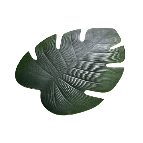Christmas Simulation Plant Artificial Leaves Table Mat