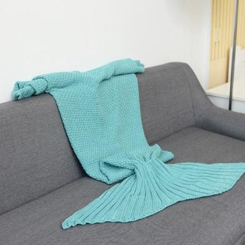 Cobertor de cauda de sereia para bebê e Lady