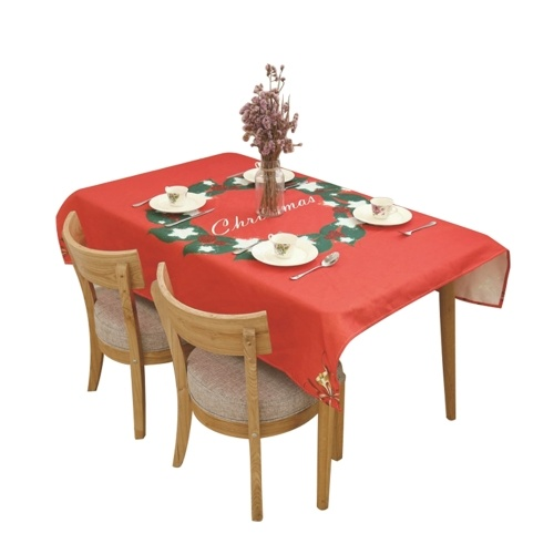Christmas Table Cloth Dining Table Decoration