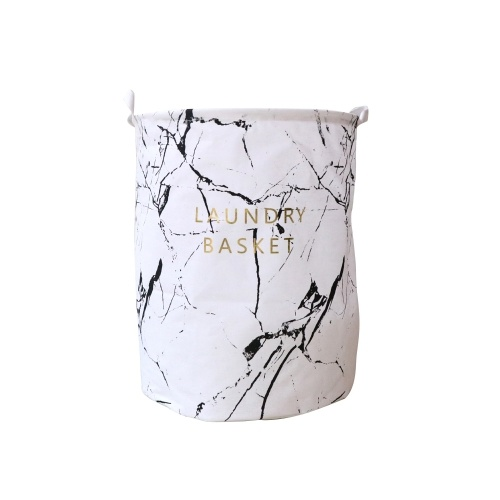 Fresh Style Dirty Clothes Folding Storage Bucket