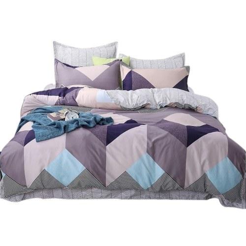 4Pcs / Set Casa Moda Conjunto de cama dos desenhos animados