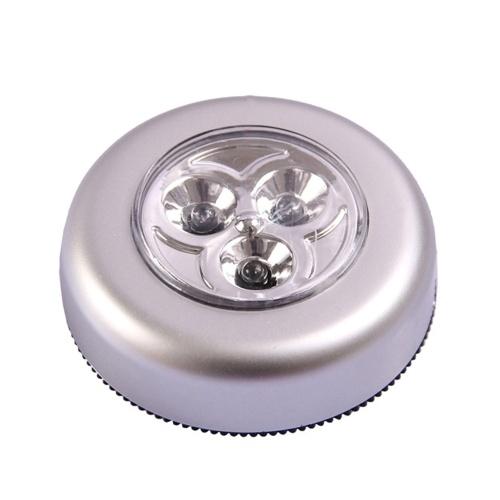 Портативный мини-круглый светодиодный яркий свет трогательный светильник Night Light