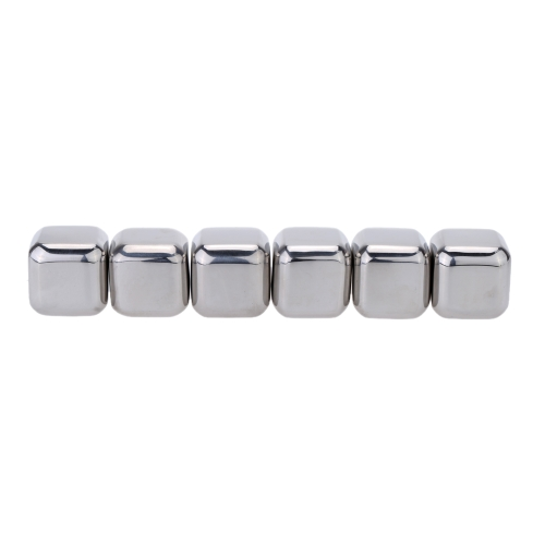 6Pcs Reusable Stainless Steel Cooler Set Wine Drinks Cooling Chilling Cube with Plastic Storage CaseHome &amp; Garden<br>6Pcs Reusable Stainless Steel Cooler Set Wine Drinks Cooling Chilling Cube with Plastic Storage Case<br>