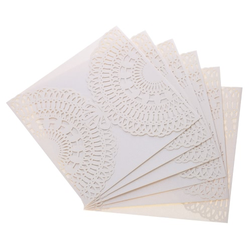 20Pcs Romantic Wedding Party Invitation Card Delicate Carved Pattern Banquet DecorationHome &amp; Garden<br>20Pcs Romantic Wedding Party Invitation Card Delicate Carved Pattern Banquet Decoration<br>