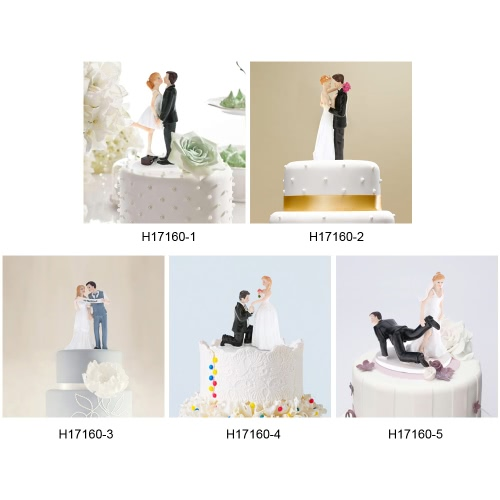 Good Quality Synthetic Resin Bride &amp; Groom Wedding Cake Topper Romantic Wedding Party Decoration Figurine Craft GiftHome &amp; Garden<br>Good Quality Synthetic Resin Bride &amp; Groom Wedding Cake Topper Romantic Wedding Party Decoration Figurine Craft Gift<br>