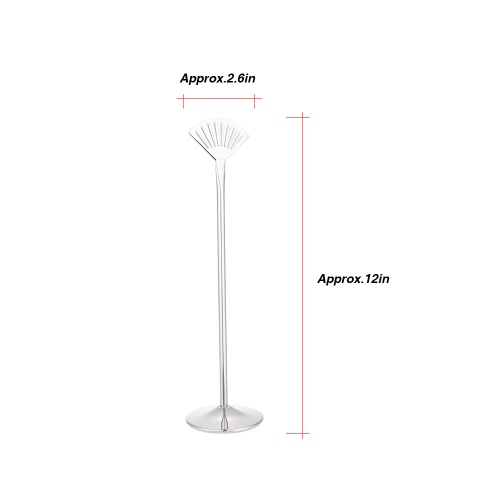 12 Stainless Steel Fan Shaped Table Number Place Card Holder Menu Stand for Wedding RestaurantHome &amp; Garden<br>12 Stainless Steel Fan Shaped Table Number Place Card Holder Menu Stand for Wedding Restaurant<br>