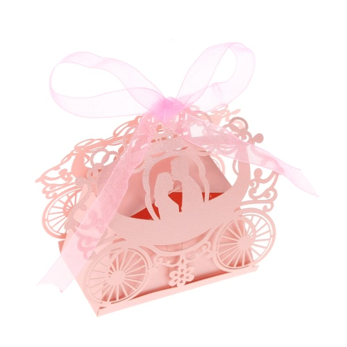 50pcs Delicate Mini DIY Candy Cookie Gift Boxes Carved Pattern with Ribbon Party Wedding Banquet Bridal SuppliesHome &amp; Garden<br>50pcs Delicate Mini DIY Candy Cookie Gift Boxes Carved Pattern with Ribbon Party Wedding Banquet Bridal Supplies<br>