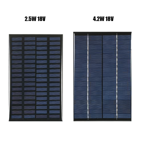 2.5W 18V Polycrystalline Silicon Solar Panel Solar Cell for DIY Power Charger 120*194mmTest Equipment &amp; Tools<br>2.5W 18V Polycrystalline Silicon Solar Panel Solar Cell for DIY Power Charger 120*194mm<br>