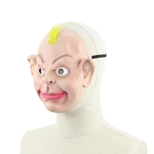 Realistic Latex Human Mask Scary Funny Male Man Masks with Elastic Strap for Halloween Costume Cosplay Fancy DressHome &amp; Garden<br>Realistic Latex Human Mask Scary Funny Male Man Masks with Elastic Strap for Halloween Costume Cosplay Fancy Dress<br>